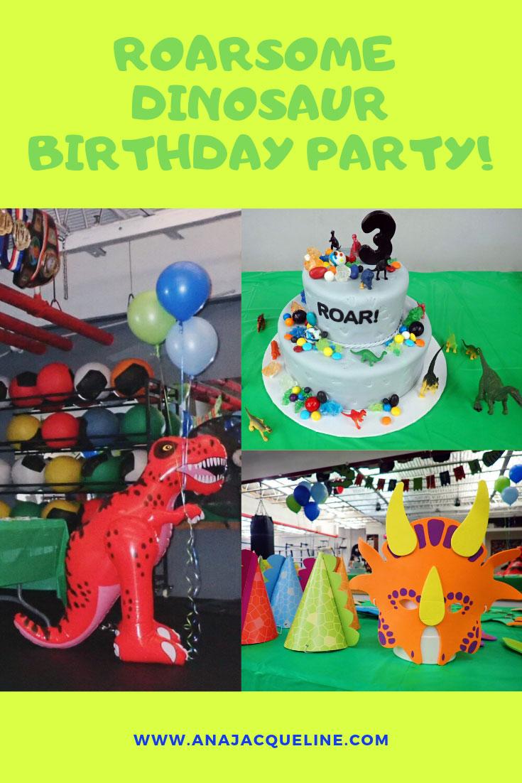 Roarsome Dinosaur Birthday | Toddler Dinosaur Birthday | Toddler Dinosaur Birthday Party | Dinosaur Birthday | Dinosaur Birthday Party | Dinosaur Birthday Cake | Dinosaur Cake | Dinosaur Themed Birthday | Birthday Theme Toddler Boy | Dinosaur Birthday Party Decoration | Dinosaur Birthday Invitation | Dinosaur Favor Boxes | www.anajacqueline.com