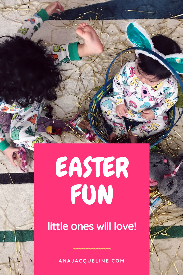 Easter Activities for Toddlers | Easter Activities for children | Easter fun for toddlers | Easter fun for children | Easter brunch | Easter egg Garland | Easter egg Hunt | Easter Baking Fun | www.anajacqueline.com