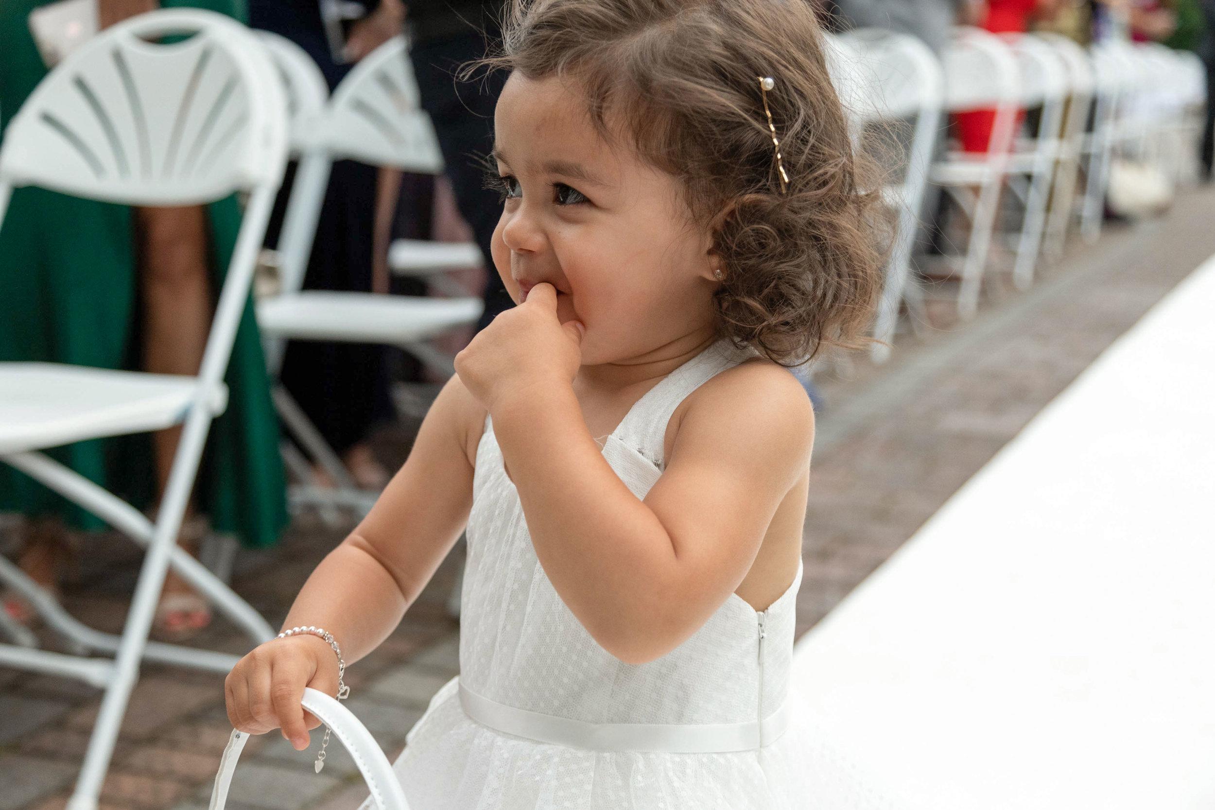 Toddler Flower Girl