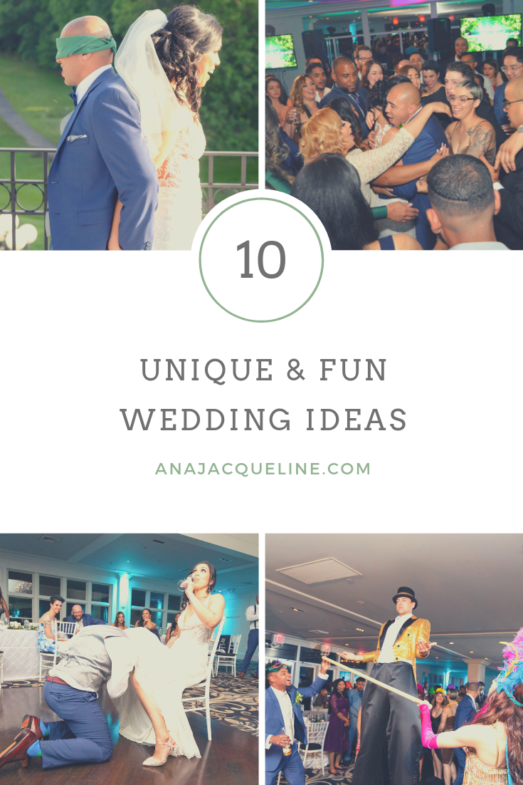Fun And Unique Wedding Ideas To Personalize Your Wedding Day Ana Jacqueline Latina Mom Motherhood Fitness Travel Fashion Life