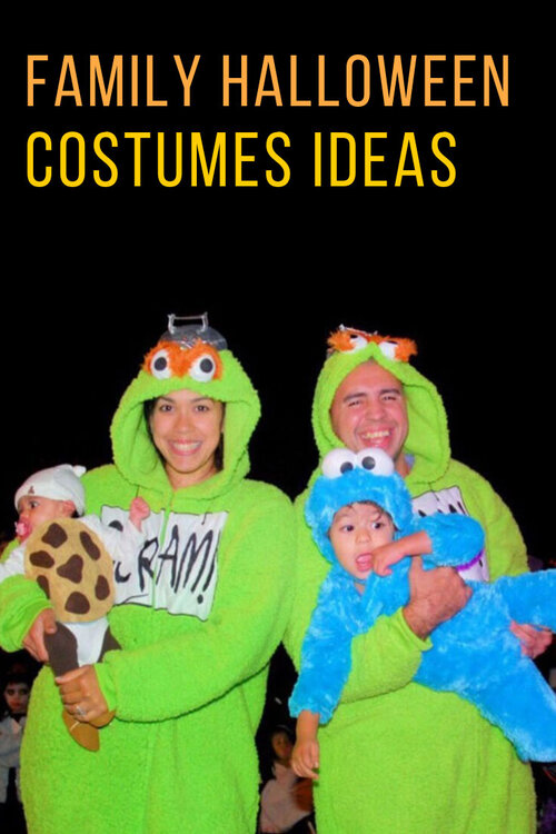 Family of four halloween costumes ideas | Family Halloween costumes ideas | Toy Story halloween costumes | Sesame Street family halloween costumes | Sesame Street Halloween costumes | diy toddler cookie costume | Toy Story family halloween costumes | Woody and Jessie costumes | Woody and Jessie couple costumes | www.anajacqueline.com