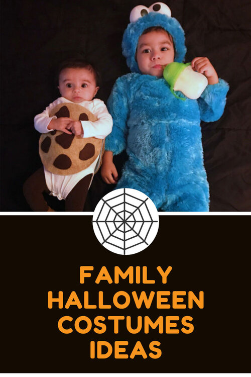 Family of four halloween costumes ideas | Family Halloween costumes ideas | Toy Story halloween costumes | Sesame Street family halloween costumes | Sesame Street Halloween costumes | diy toddler cookie costume | Toy Story family halloween costumes | Woody and Jessie costumes | Woody and Jessie couple costumes | toddler Cookie Monster costume | www.anajacqueline.com