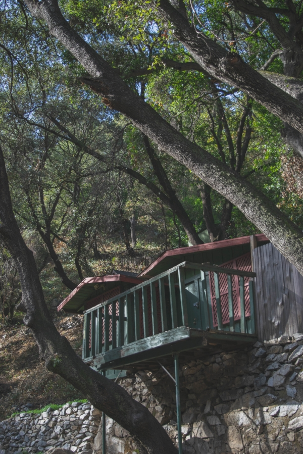 Sturtevant Falls Trail cabin