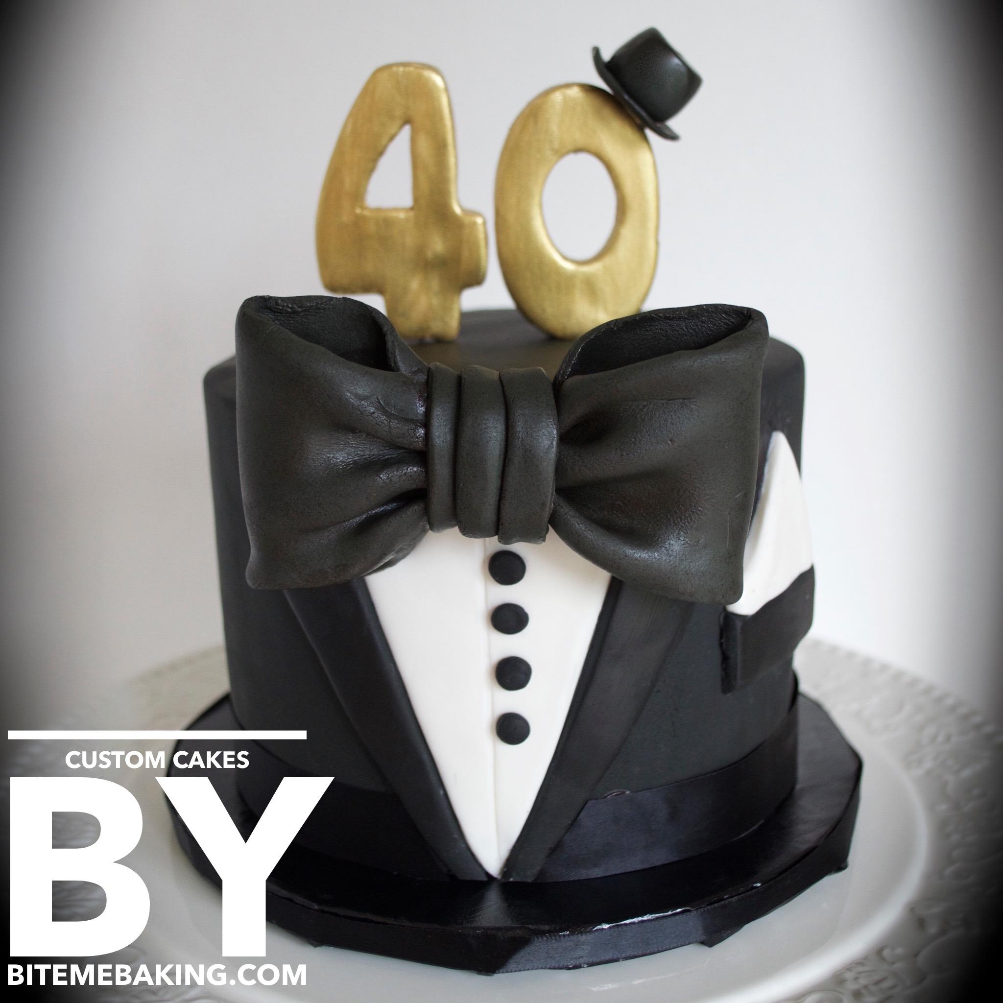 Tuxedo Cake