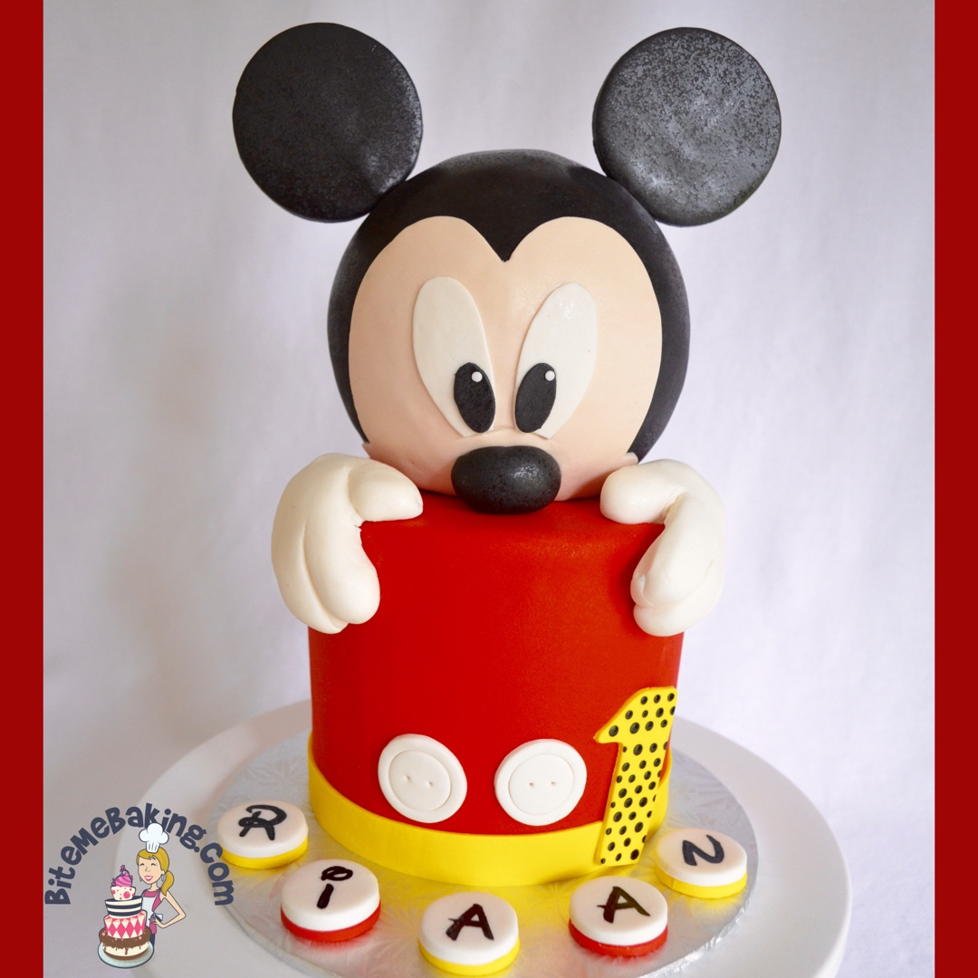 Mouse 1st birthday
