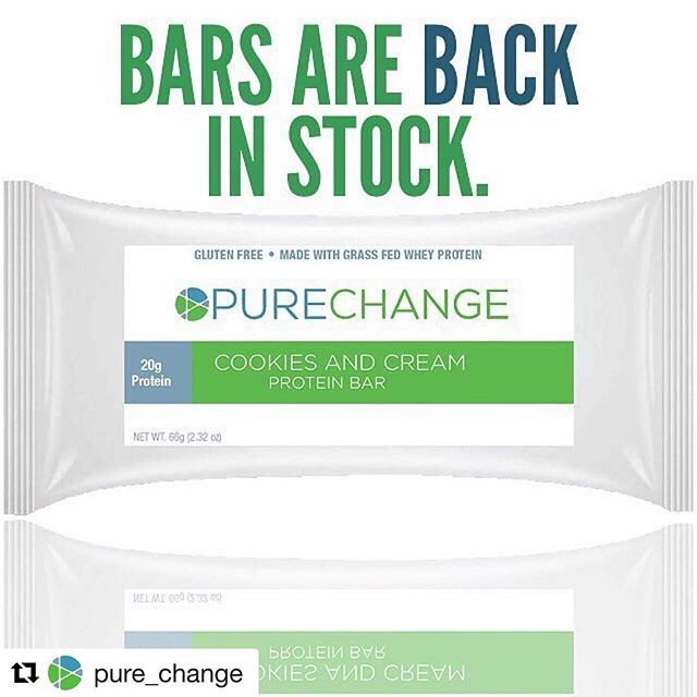 #Repost @pure_change ・・・ Our Protein Bars are back in stock. Order your bars or Pure Change Program NOW! www.purechange.co . . . #purechange #drpassler #healthyliving #healthychoices #healthy #nyc