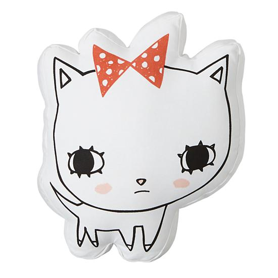 Kitty Pillow for The Land of Nod