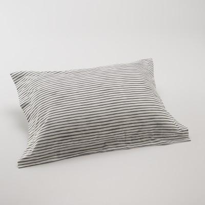 Painterly Stripe Pillow