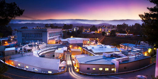 The Stanford Synchrotron Radiation Lightsource (SSRL). A cool place to work! (Credit:  SSRL )