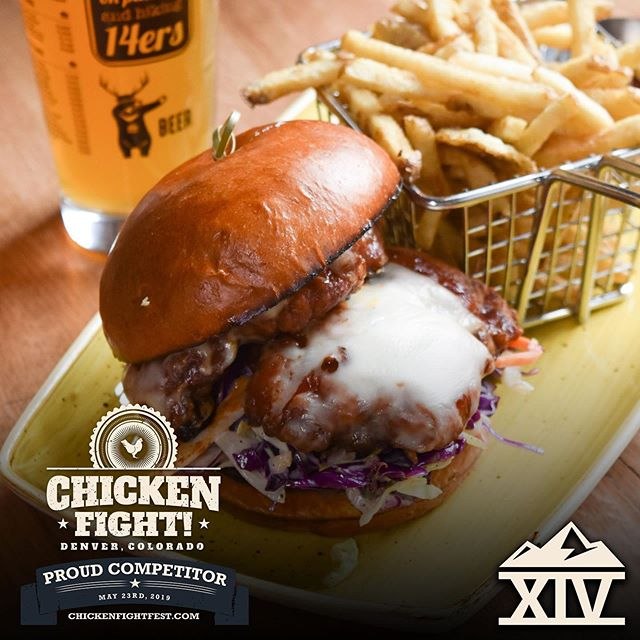 Join us at the Chicken Fight this Thursday at Industry Denver!  For all the info and to get tickets follow the link below . https://www.eventbrite.com/e/2019-chicken-fight-tickets-55552549170 . . . #tapfourteen #tap14 #coloradowhiskey #whiskey #beergarden #craftbeer #coloradocraftbeer #cocraftbeer #patiodrinking #denver #denvercolorado #downtowndenver #colorado #local