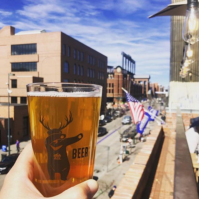 Cheers to a great home stand for the Rockies!  PC: @coloradobeerhouse #beer #baseball #coorsfield