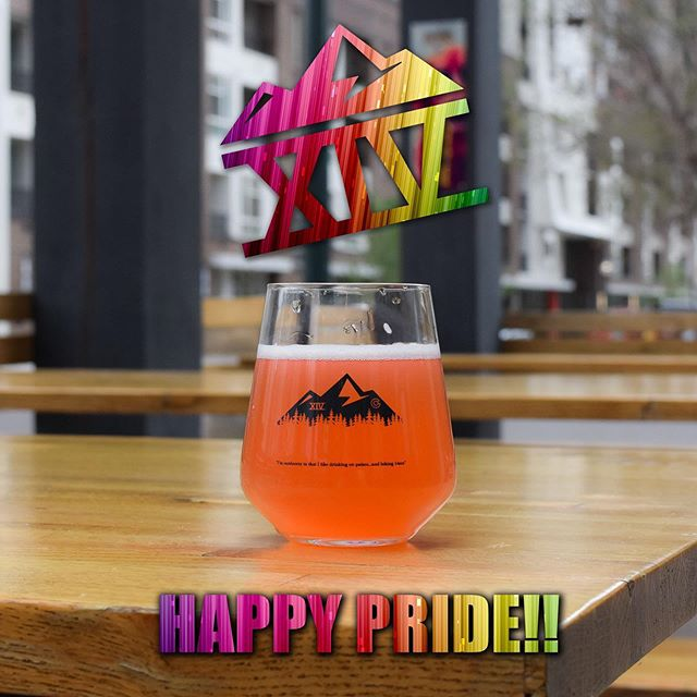 Happy Pride Denver!! . . . . #tapfourteen #tap14 #coloradowhiskey #whiskey #beergarden #craftbeer #coloradocraftbeer #cocraftbeer #patiodrinking #denver #denvercolorado #downtowndenver #colorado #local