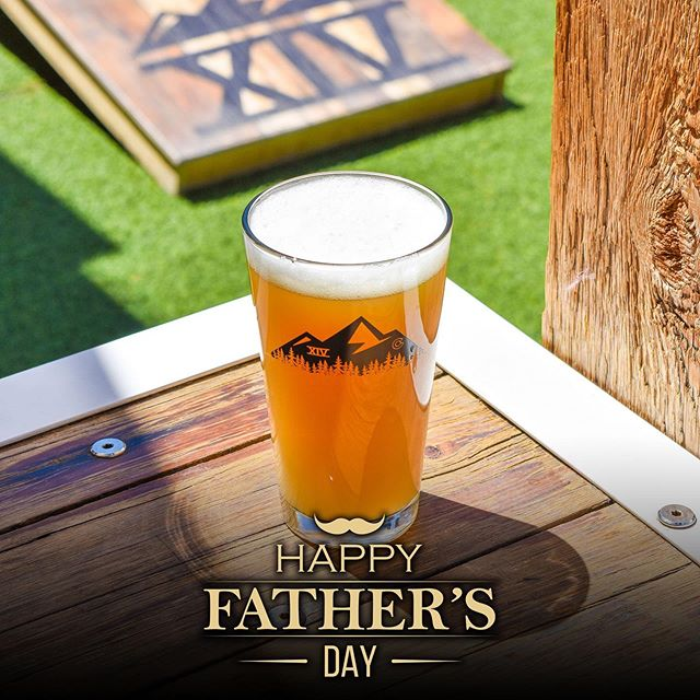Happy Father's Day!  Dad's get their first beer free at either our Ballpark or Uptown location today with the purchase of a menu item . . . #fathersday #tapfourteen #tap14 #coloradowhiskey #whiskey #beergarden #craftbeer #coloradocraftbeer #cocraftbeer #patiodrinking #denver #denvercolorado #downtowndenver #colorado #local
