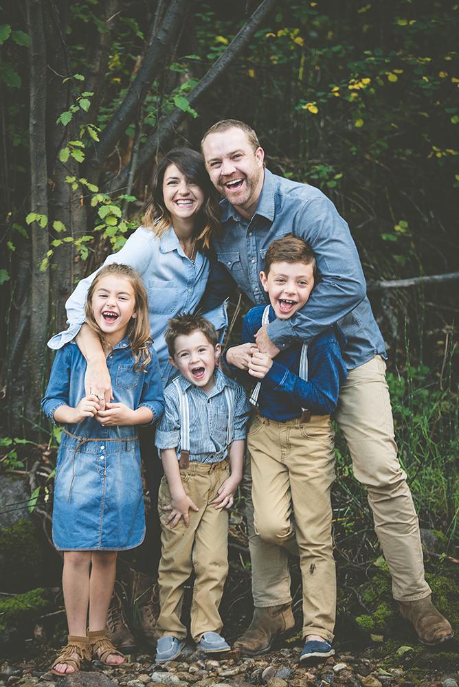 Beaver Creek Family Photo Session