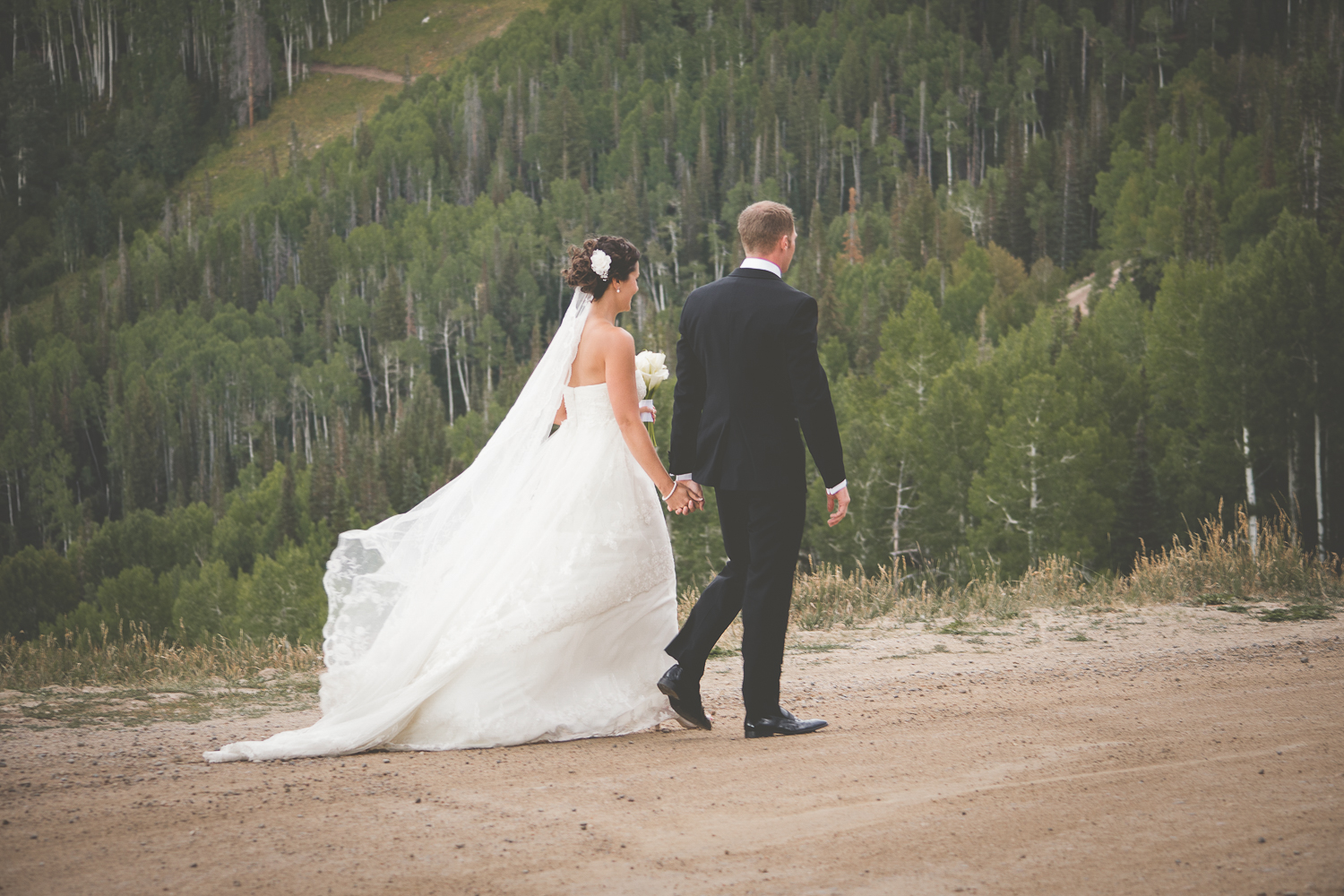 Thunderhead Lawn Steamboat Colorado Wedding Photographer