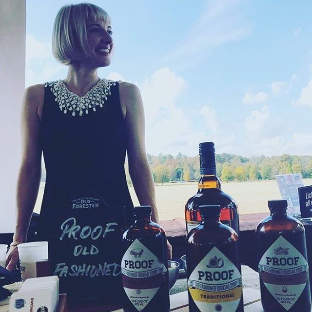 Our #SexySunday post goes out to that time the strongest woman in our world was mixing our favorite strong #Bourbon cocktail. #Bae