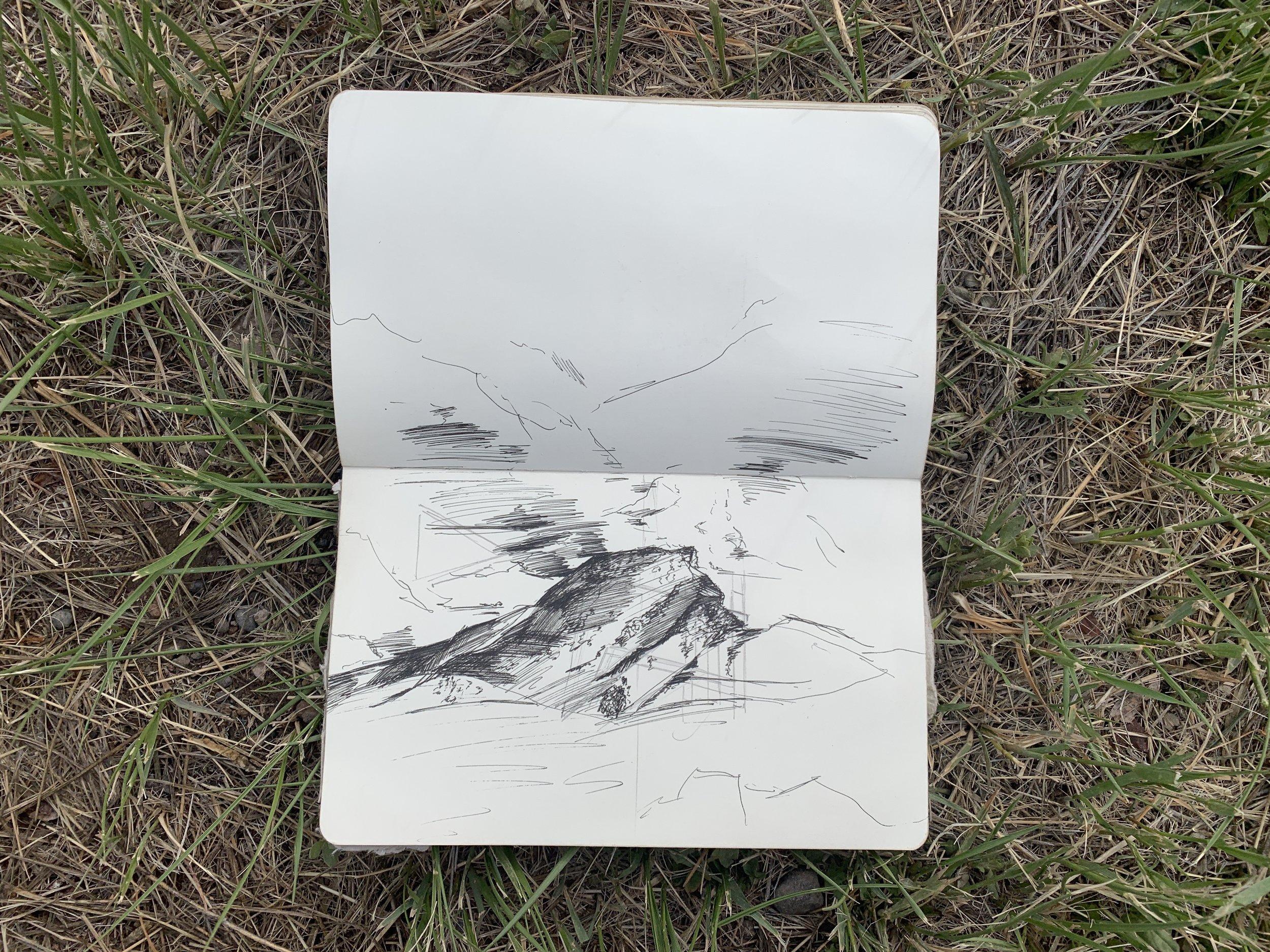elephant rock, San Luis valley study