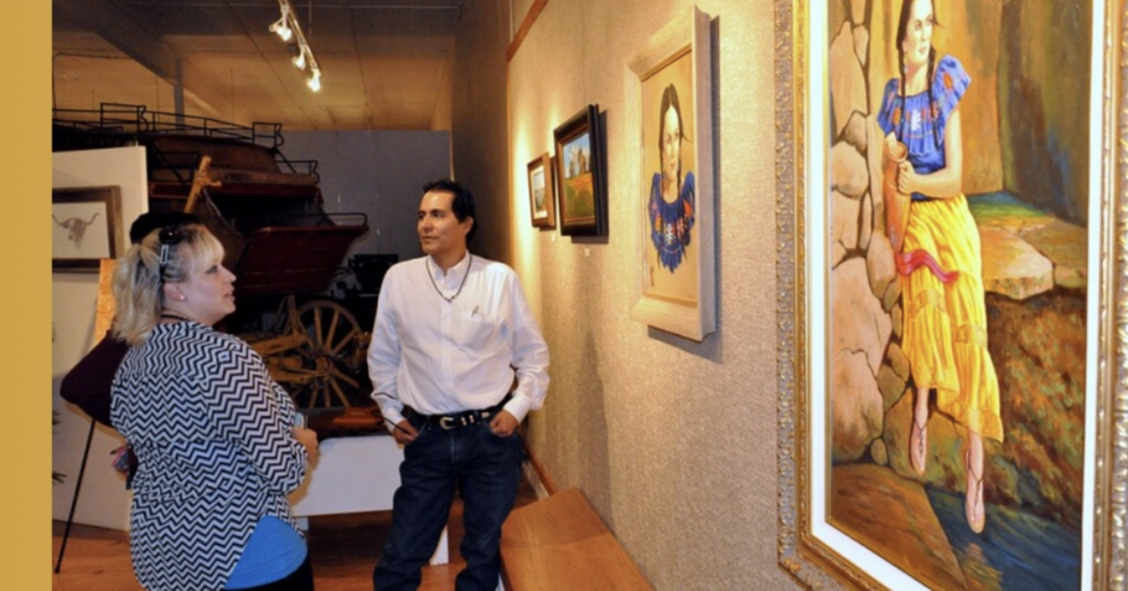 Exhibition at Lea County Museum, Lovington, New Mexico, September 5, 2014