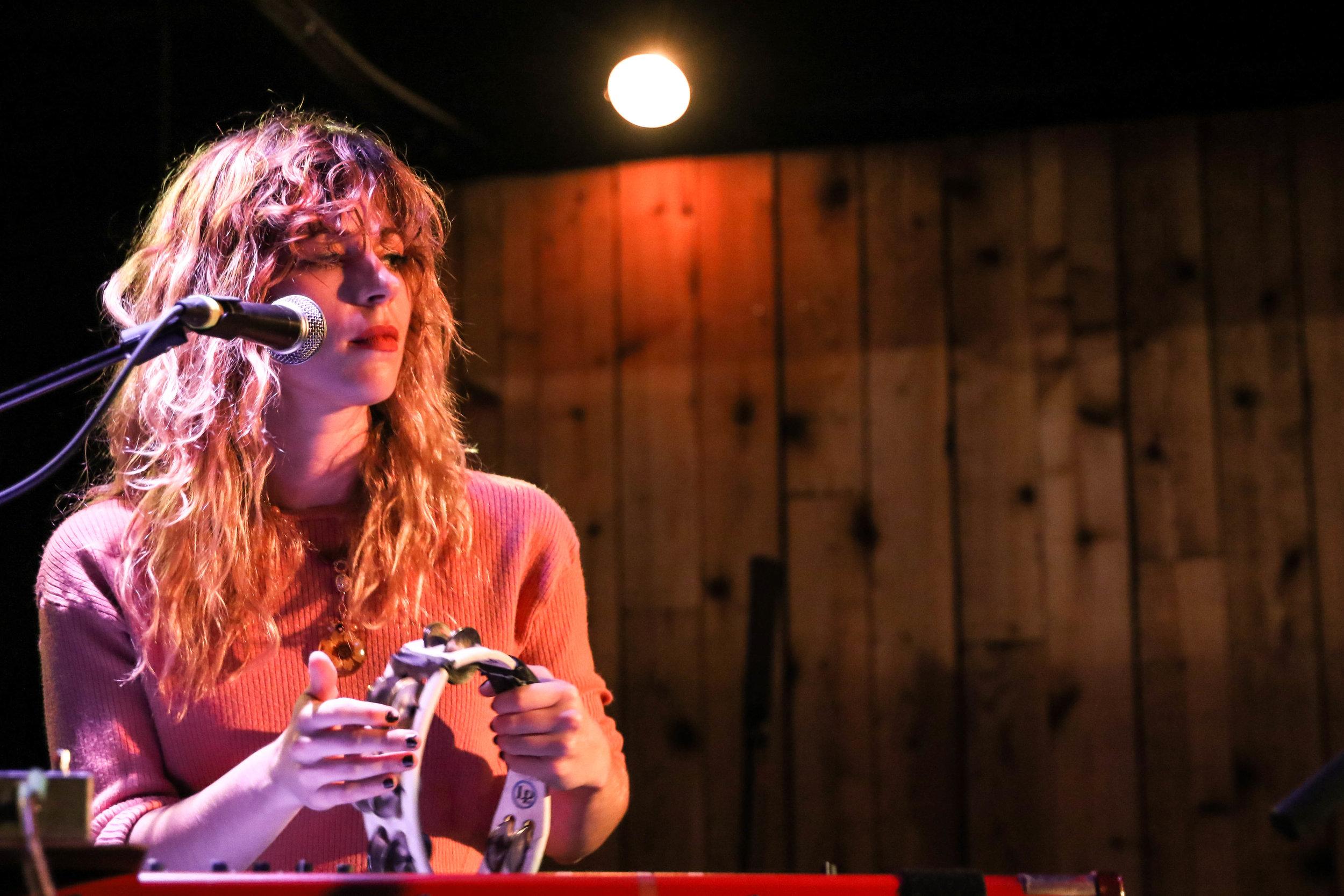 Amy Cole of The Rural Alberta Advantage