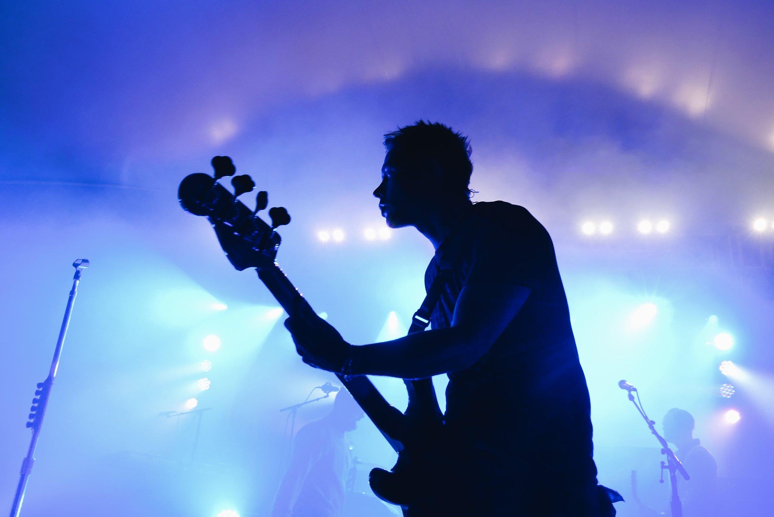 Matt Noveskey of Blue October (by Kassandra Tovar)