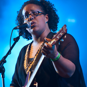 Alabama Shakes singer Brittany Howard. Copyright   ©   Getty Images.