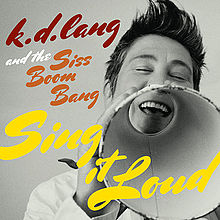 lang exhibited strong rock roots on 2011's  Sing it Loud .