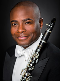 Anthony McGill is the Principal Clarinetist for the New York Philharmonic.