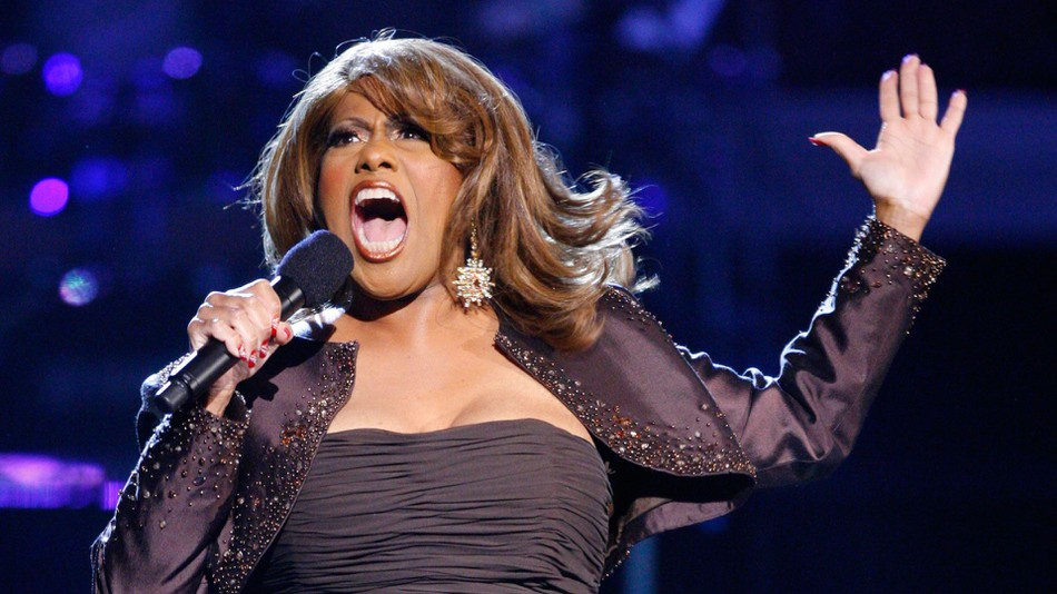 Jennifer Holliday singing live in concert.