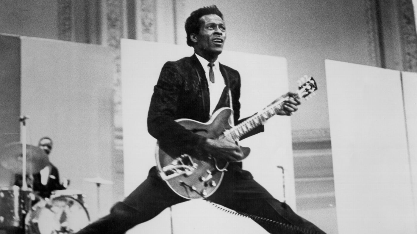 Rock 'n' roll pioneer Chuck Berry is one of the many canonical artists my students read about in the seminar.