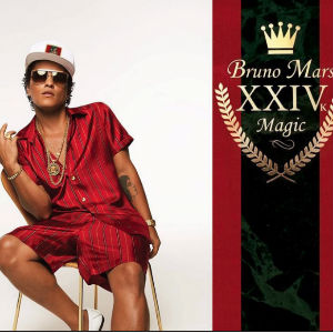 Mars celebrates his passion for 1980s and 1990s R&B on his 2016 chart topping, Grammy winning album  XXIVk Magi c.