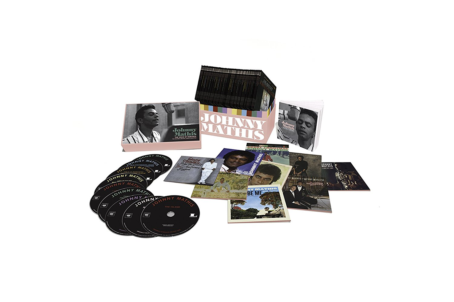 I listened to all 68 albums featured in the 2017 Johnny Mathis boxed set  The Voice of Romance:   The Columbia Original Album Collection  (Sony/Legacy).