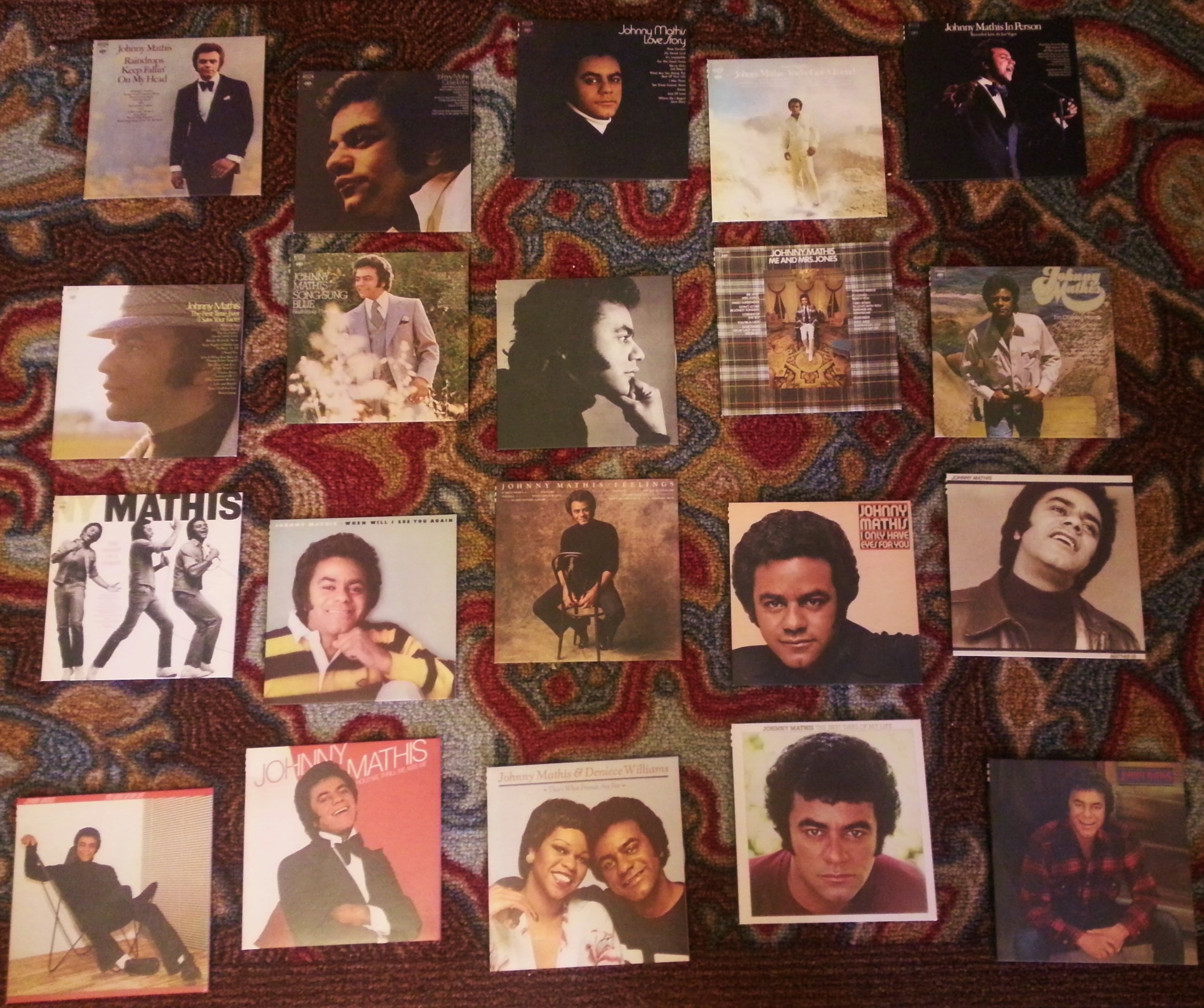 The 1970's was a prolific decade for Mathis who released 20+albums during the decade!