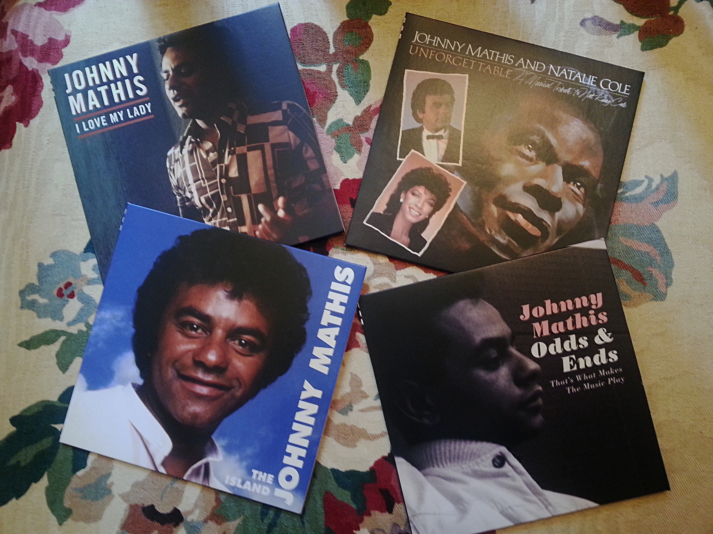 The boxed set includes four special albums, three of which were never released. 1983's  Unforgettable  and 1989's  The Island  are two of the vocalist's finest recordings.