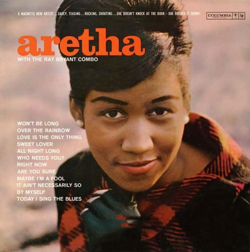 The cover of Aretha Franklin's 1961 debut album on Columbia.