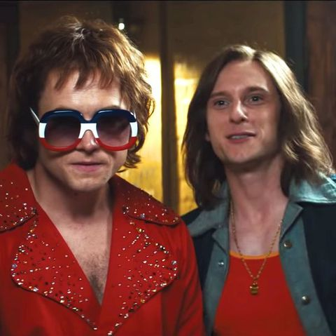Actors Taron Egerton and Jamie Bell capture the essence of Elton John and Bernie Taupin's complex creative and personal dynamic in  Rocketman .