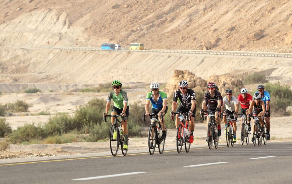 Riding north from the Dead Sea, past Masada and Ein Gedi, towards Jerusalem