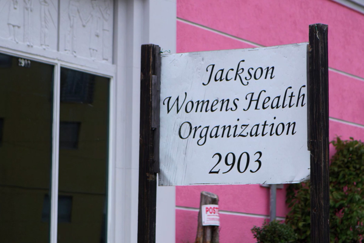 Jackson Women's Health Organization is the only remaining abortion clinic left in the entire state of Mississippi. It continues to operate despite ongoing legal challenges.