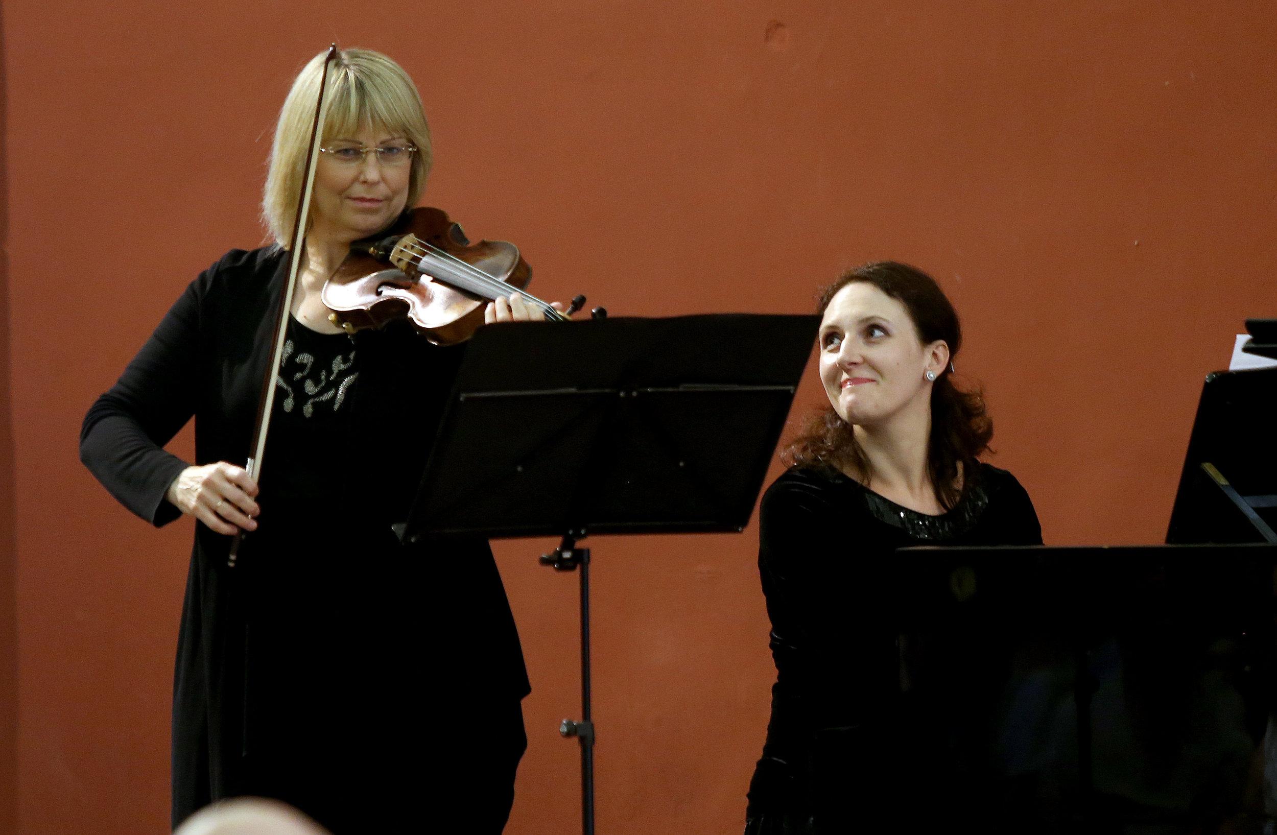 Ingrida Armonaite and Inga Vysniauskaite