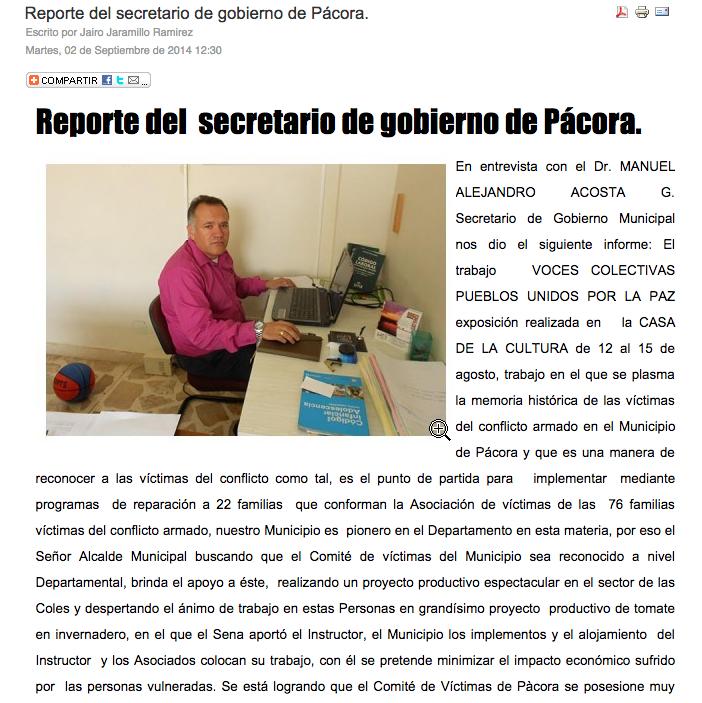 NotiPacora Report