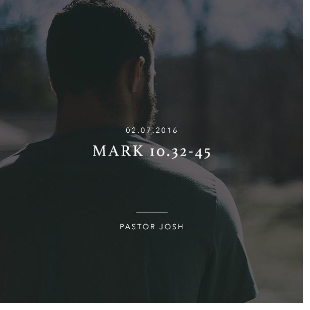 Mark 10:32-45