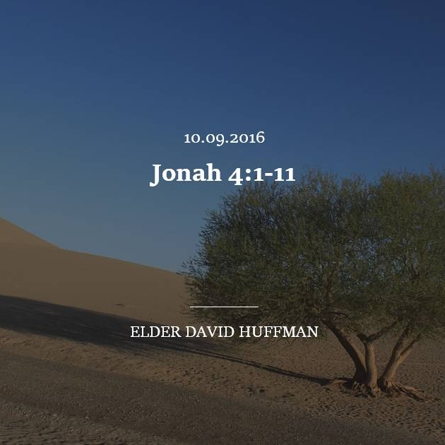 Jonah 4:1-11