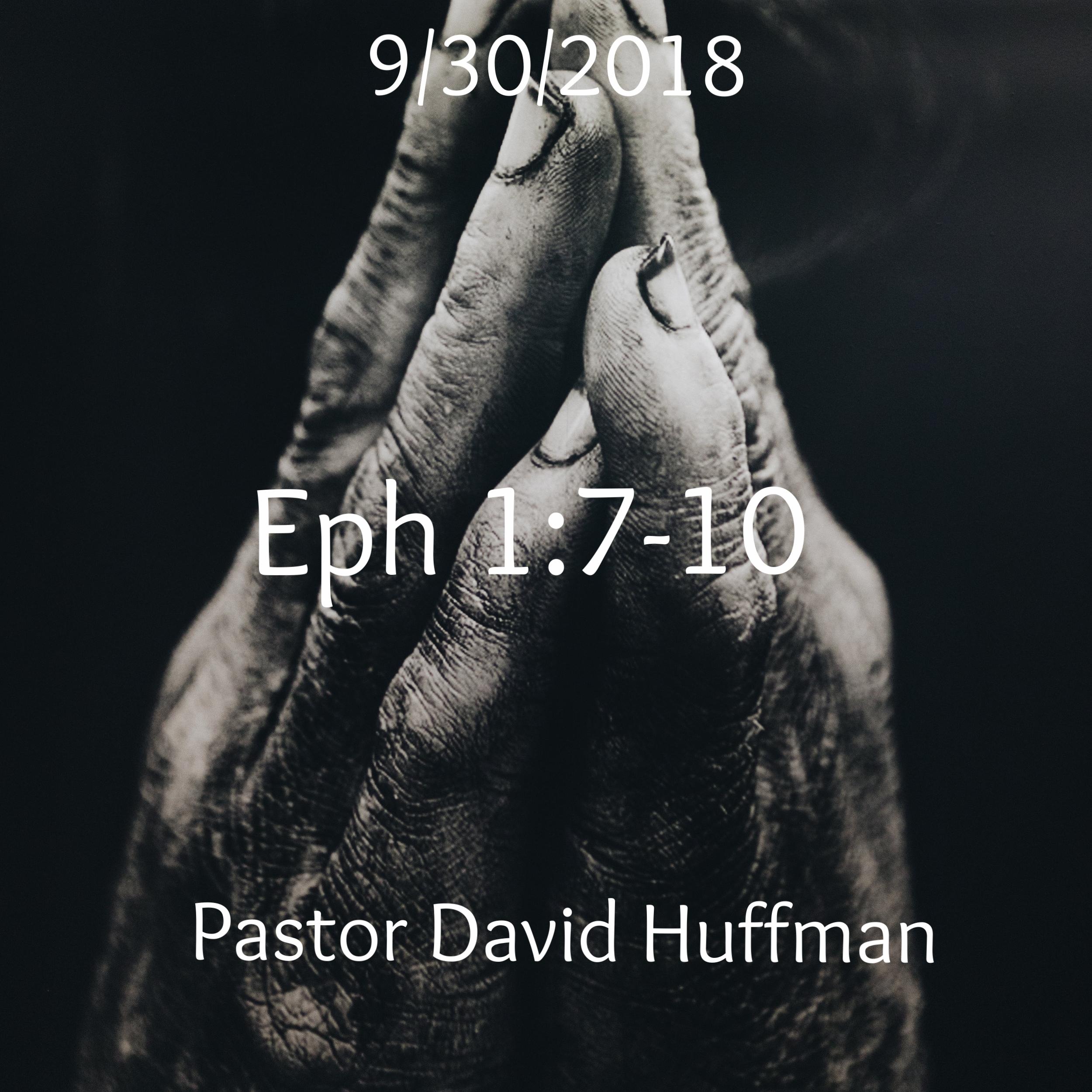 Eph 1:7-10