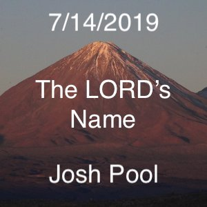 The Lords Name