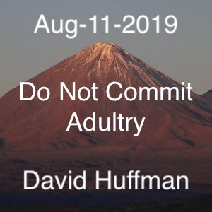 Do Not Commit Adultry