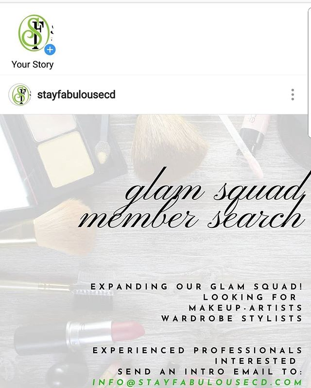 Follow Stay Fabulous Event Consulting & Design @stayfabulousecd. They currently have a Glam Squad Search going on. We're more than shoes we're a lifestyle. #stayfabulous! . . . . #shoelove #heels #stiletto  #shoegasm #shoecloset #shoegamestrong #shoefashion #fabonwheels #higheels #shoes👠 #shoestyllist i#loveshoes #shoeaddiction #shoeaddicts