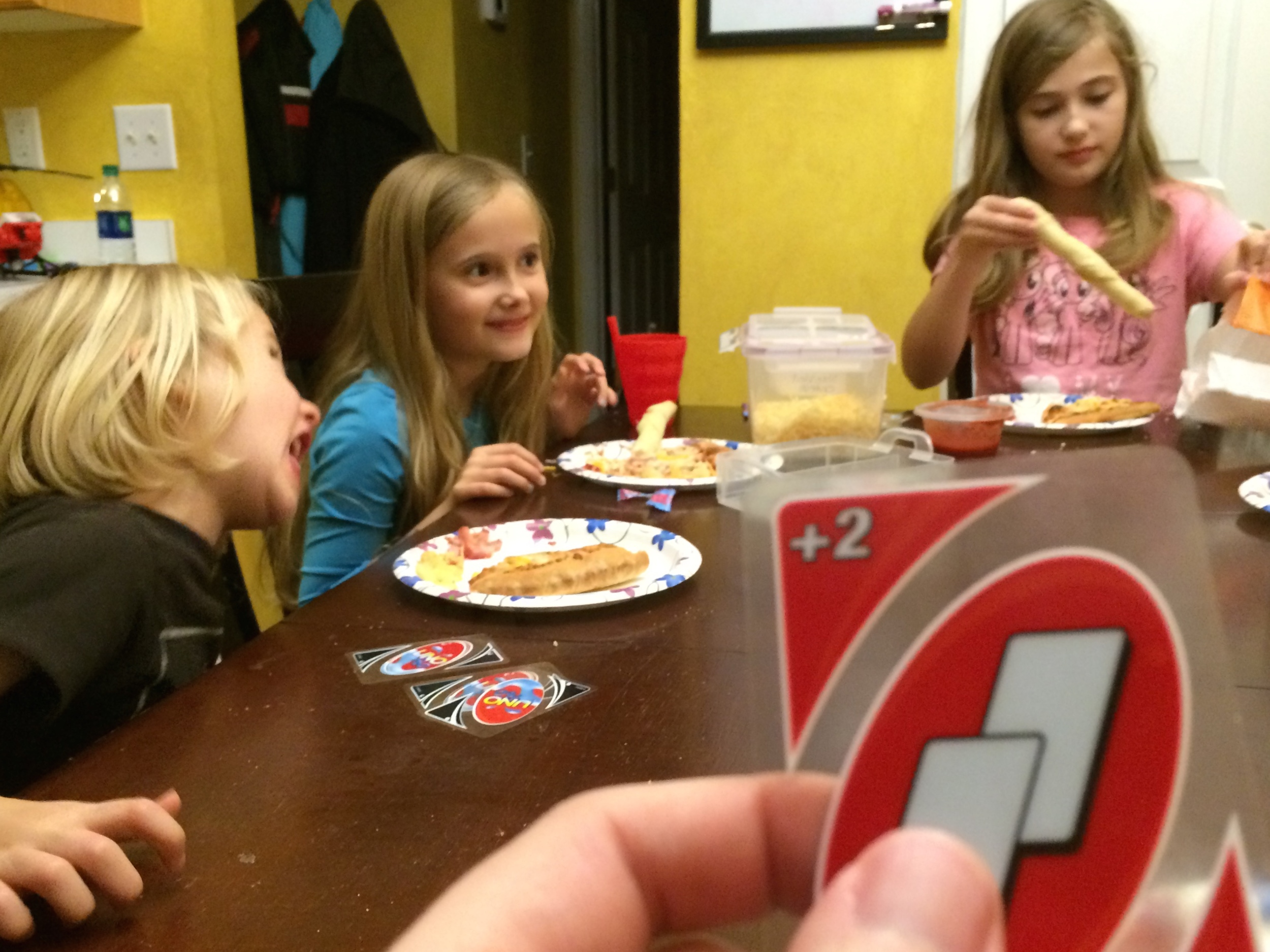 family uno night