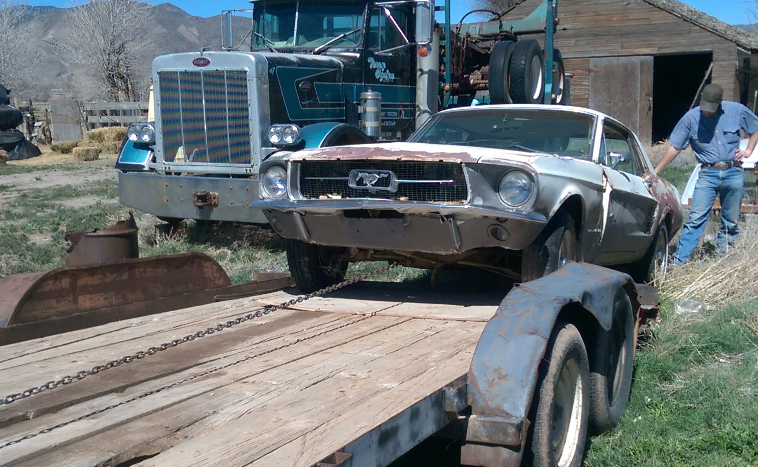 67 mustang project