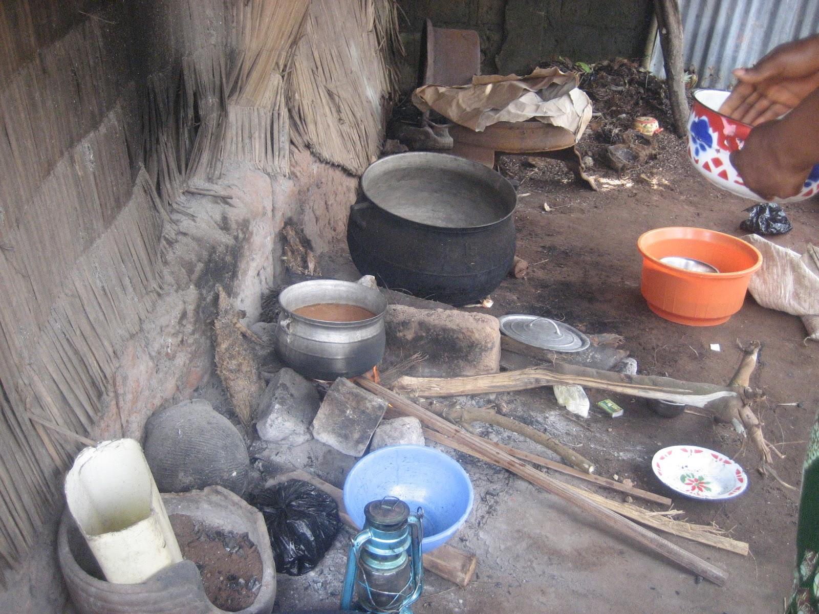 Hospital Kitchen in Village Outside of Porto-Novo