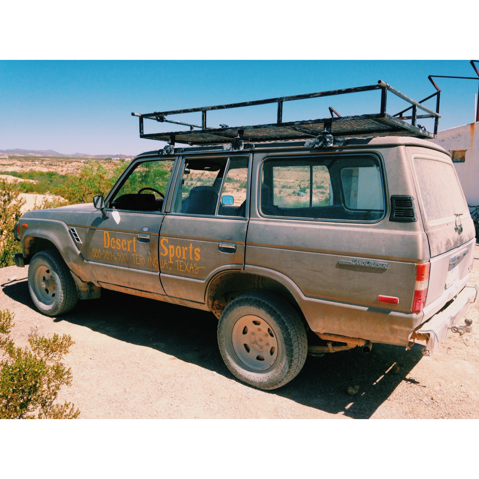 Desert Sports Sag Wagon
