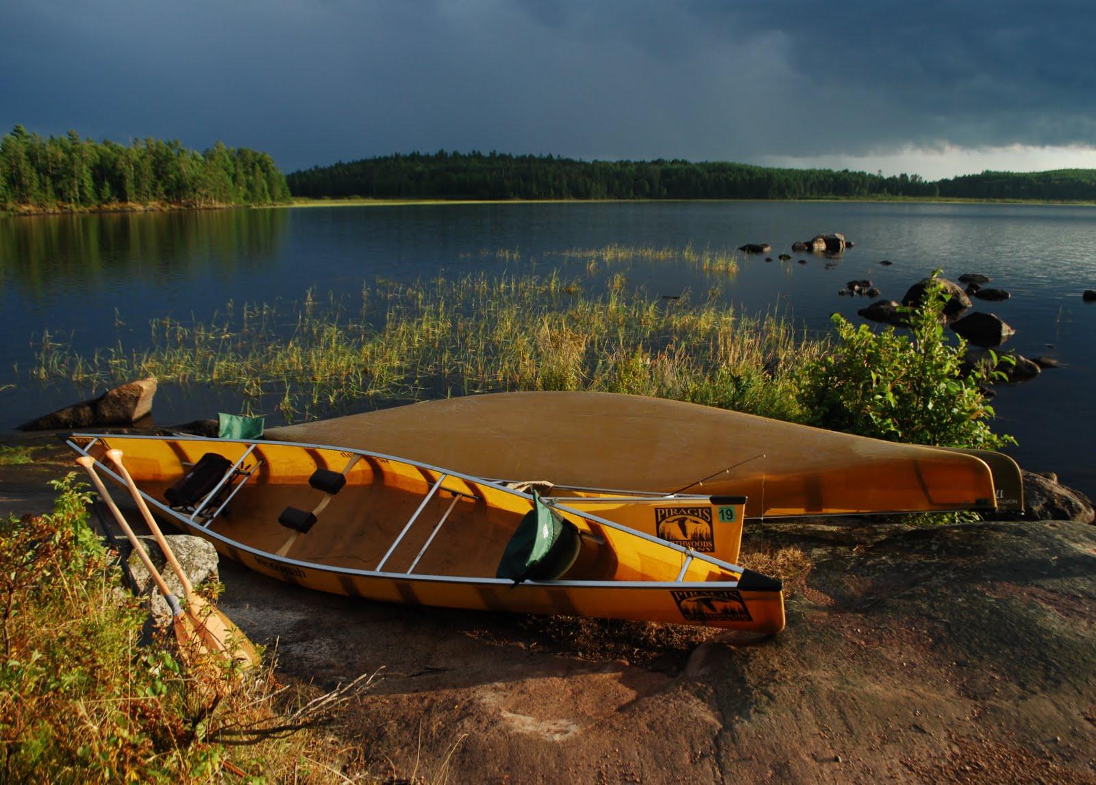 Nina Moose Lake - Boundary Waters Canoe Area Wilderness - Photo copyright by Linda Bailey